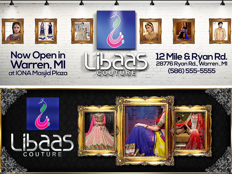 Libaas Couture : Banners