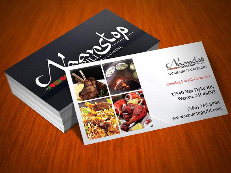 Naan Stop Grill - Branding, Design & Print : LumiGeni Design Bar