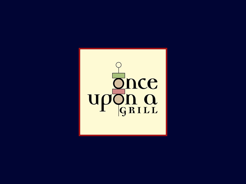 Once Upon A Grill : Logo Design
